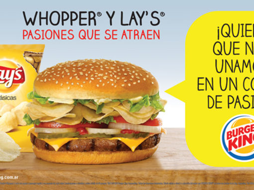 "Burger King <font color=""red"">CAMPAÑA LAYS</font>"