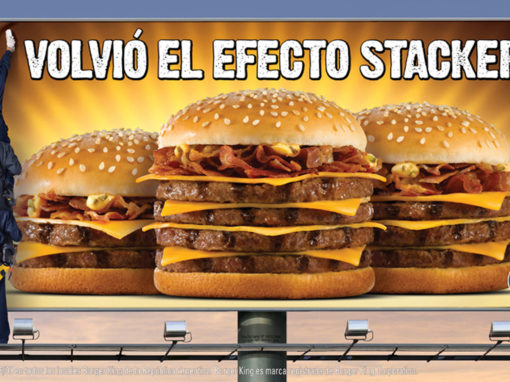 "Burger King <font color=""red"">CAMPAÑAS STACKERS</font>"