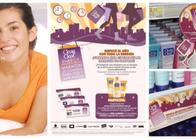 Johnson & Johnson  ACTIVACIÓN CLEAN & CLEAR