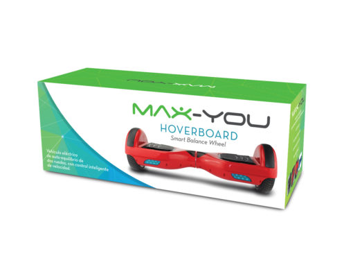 "Maxtrend <font color=""red"">DISEÑO DE PACKAGING – MAX-YOU HOVERBOARD</font>"